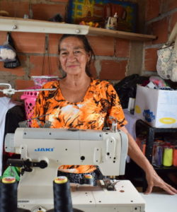 Un participant aux programmes de cours en vue du gagne-pain, au Venezuela.