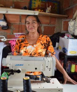 A participant of JRS livelihoods programmes in Venezuela