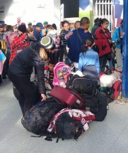 Des migrants vénézuéliens.