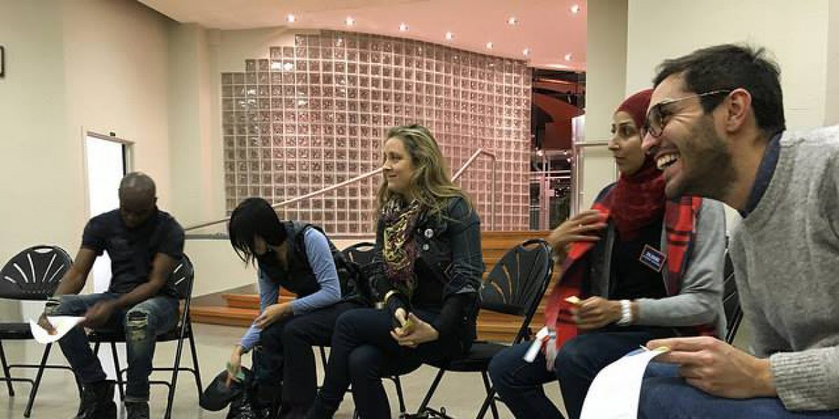 JRS Canada tient une simulation de la vie de réfugié pour la communauté locale à Montréal (JRS)