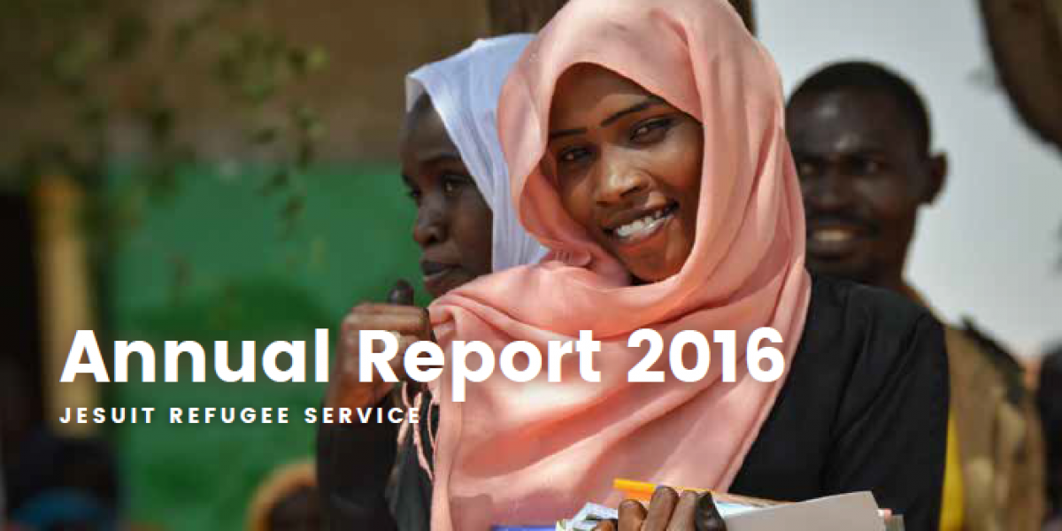 Jesuit Refugee Service Annual Report 2016