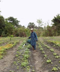 Una persona beneficiaria del JRS en Camerún