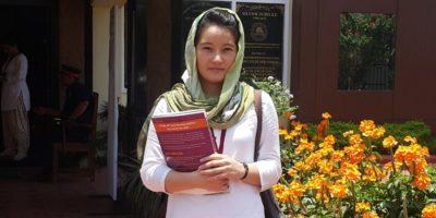 Farzana attending university in Goa