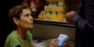 Marthe es voluntaria en el banco de alimentos del JRS en Parramatta.