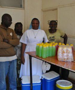 Distribución de artículos en Malaui