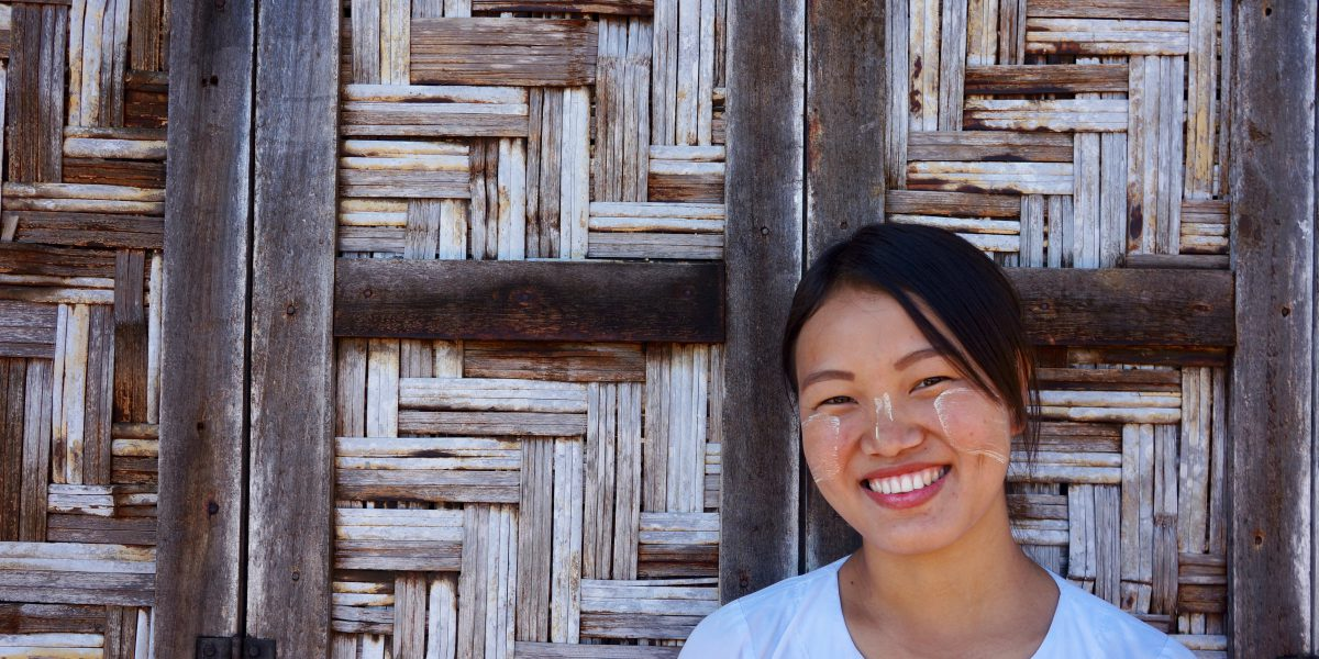 Roi San graduated from a teacher training course supported by JRS. Now she teaches at a Catholic school in the town of Myitkyina in Myanmar's Kachin State.