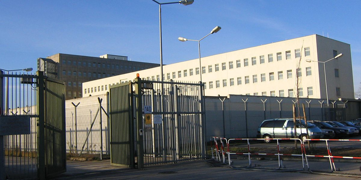 One of the detention centres in Germany where JRS provides pastoral care.