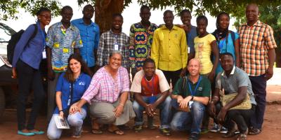 Une photo de l'équipe du JRS à Batouri, au Cameroun. (Service Jésuite des Réfugiés)