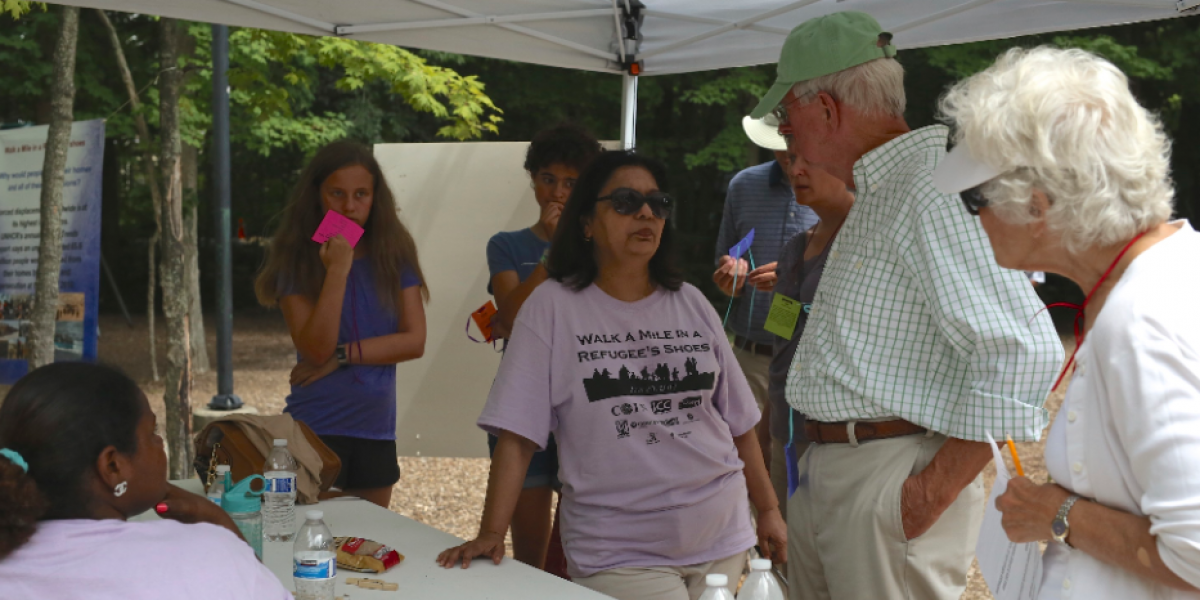 Members of COIN in Indianapolis brought together over 400 members of their community to do the
