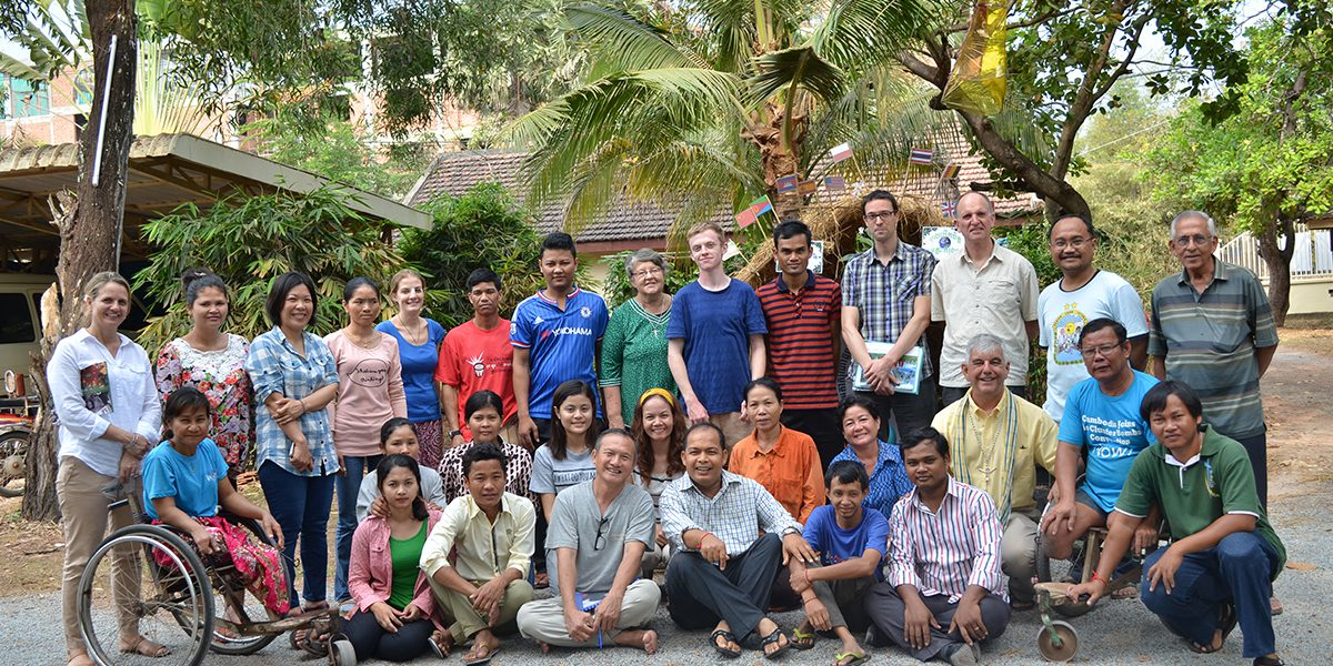 Fr Thomas H Smolich SJ, JRS International Director, visits the JRS Cambodia team.