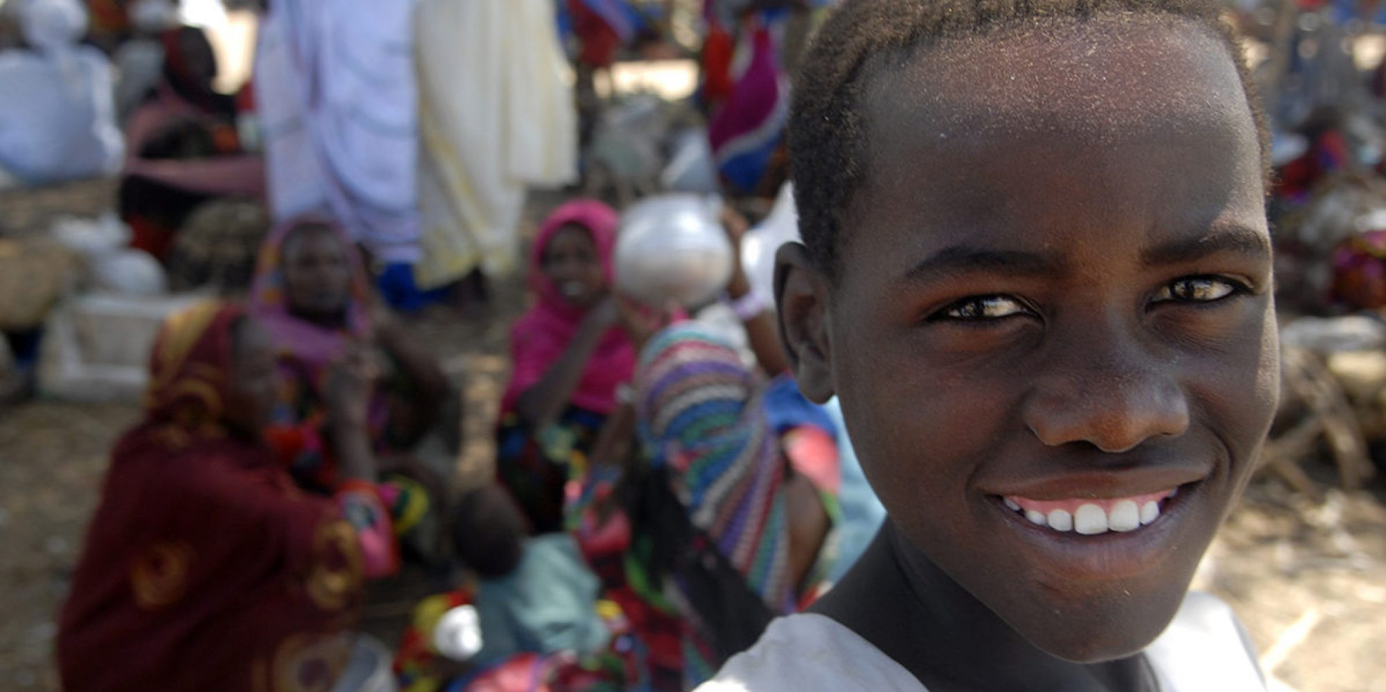 Boy in the Goz Amir Refugee Camp about six miles from Koukou, Chad.