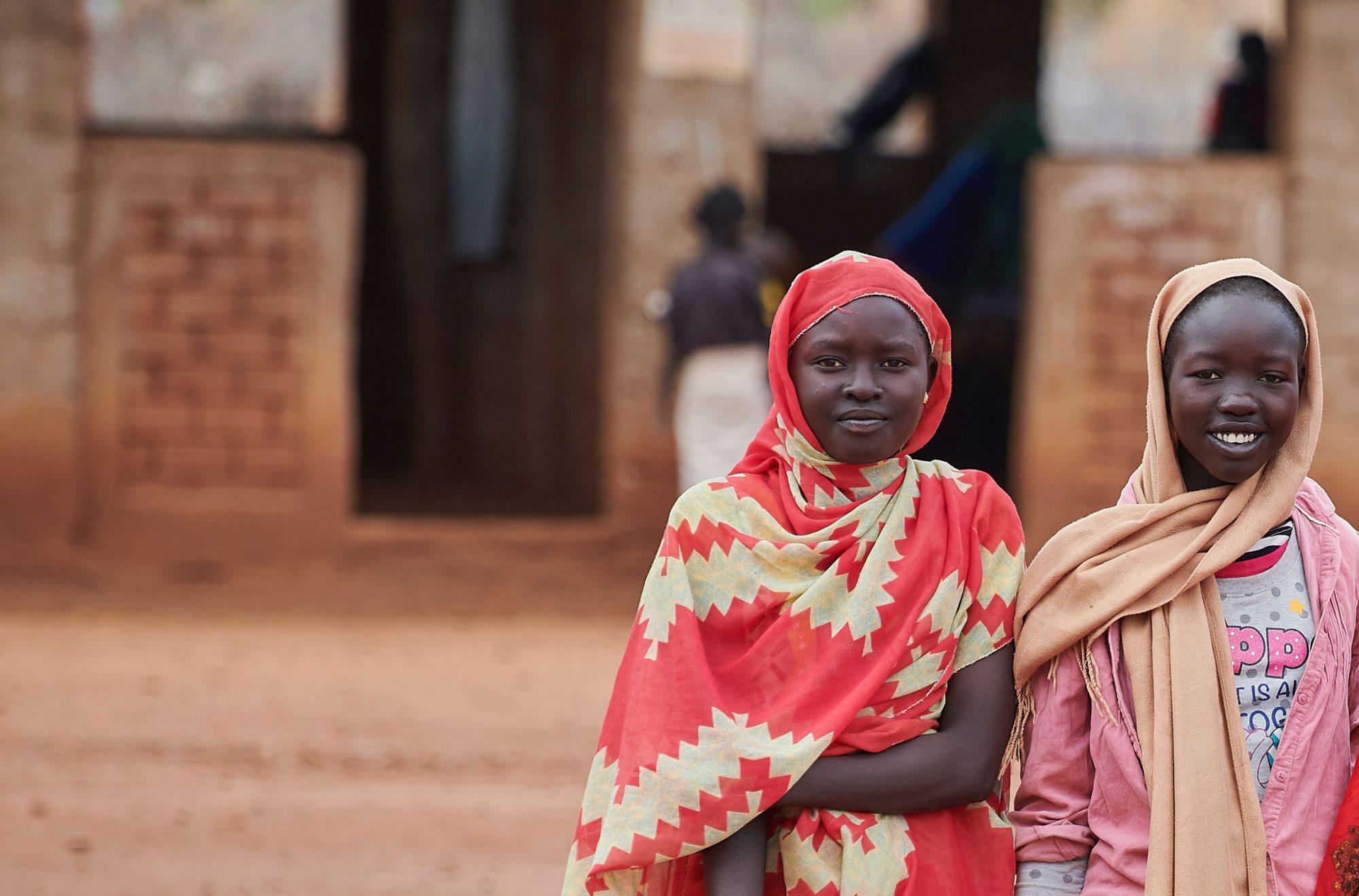 las niñas desplazadas