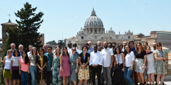 JRS International Office staff and new country directors pose for a photo (Jesuit Refugee Service)