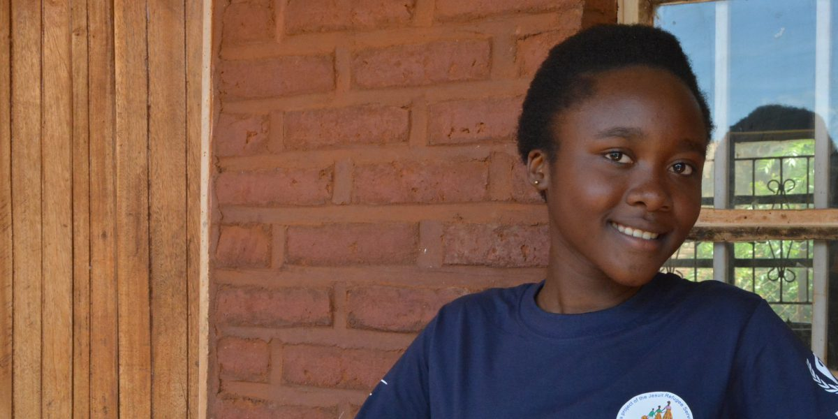 Christella is passionate about education and opportunities for girls such as herself.