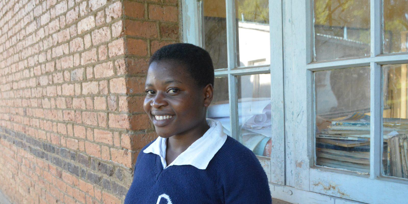 Faraja is a recipient of the Naweza scholarship.