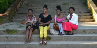 Perfect and three other young women from Dzaleka refugee camp are now studying at the Catholic University of Malawi. (Jesuit Refugee Service)