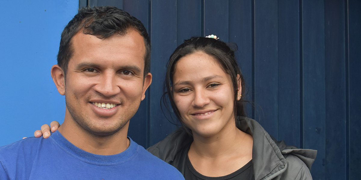 Yorbelys and Rafael found a community with the other families in the JRS-funded shelter in Quito, Ecuador.