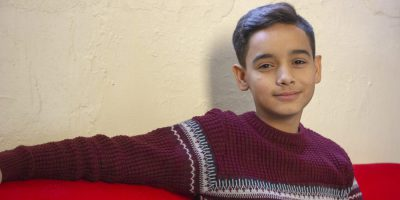 Youssef is a 13 year old Syrian refugee who likes to perform at the youth club at the JRS FVDL cente in Lebanon.