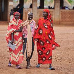 Girls in Maban, South Sudan. Paul Jeffrey/Misean Cara)