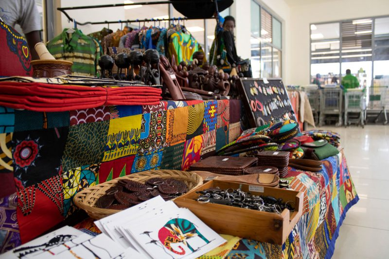 Refugee-made crafts sold by Mikono, the JRS refugee shop