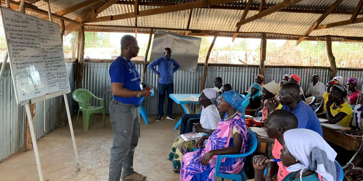 Addressing Adult English Class Learners in Doro Camp (Maban - South Sudan)