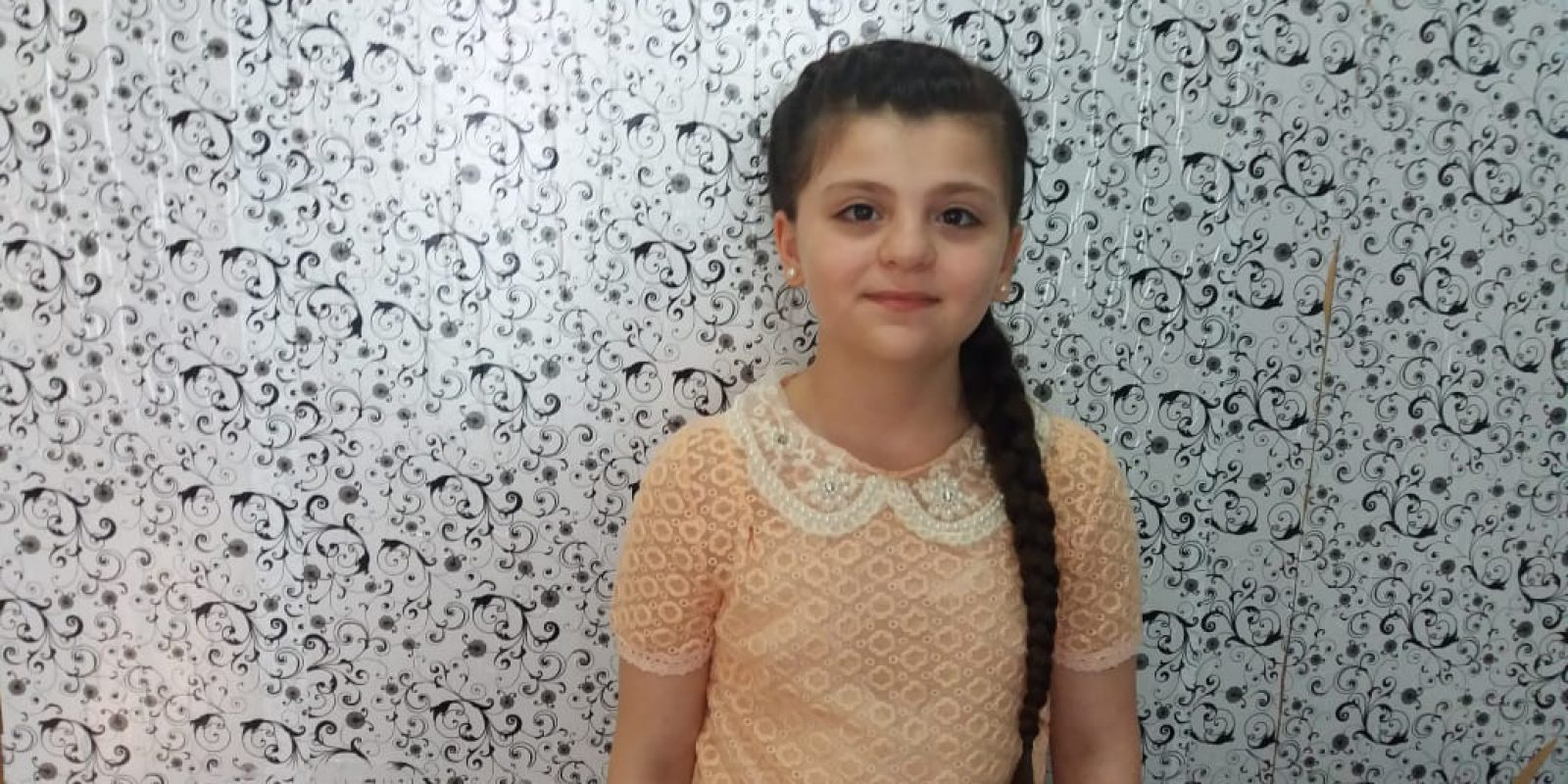 Malak*, 12, a grade four student at Nicolas Kluiters centre in Jbeil, This is her first year with JRS.