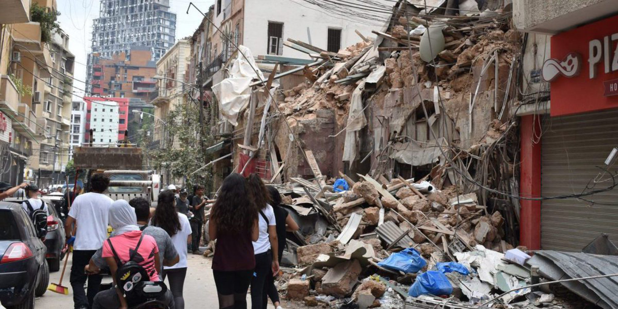 Damages of the Beirut explosion
