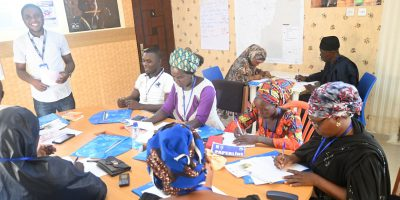 A session of the Farmers Business School (FBS) training in Mubi community, Adamawa State. (Jesuit Refugee Service)