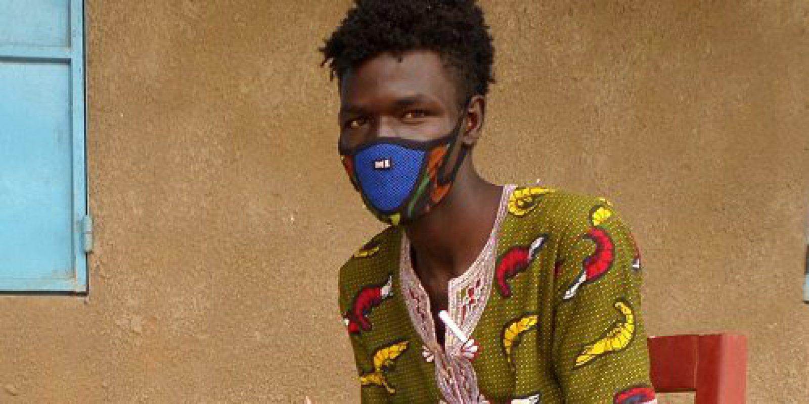 Ahmat Ali Abderaman, Sudanese refugee living in Touloum camp, Iriba.