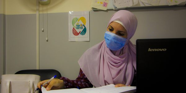 Sahar, social worker, contributed to the rapid assessment held by JRS to identify how to best support those affected by the Beirut explosion.