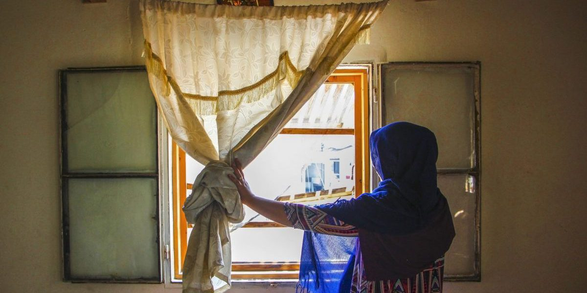Manar's house is a few kilometres from the Beirut port. The explosion occurred four months ago brought back sad memories of Manar's past in Syria.