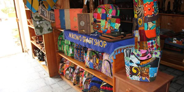 Refugee-made crafts sold by Mikono