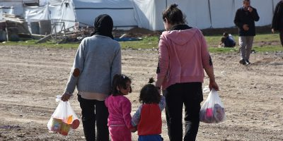 Hundreds of displaced families are still living in camps and settlements in Sharya and surrounding villages, in the Dohuk Governorate, northern Iraq.
