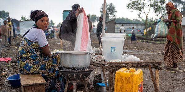 Deux mois après l'éruption du Mont Nyiragongo, les habitants de Mujoga et Mugerwa vivent dans des conditions précaires.