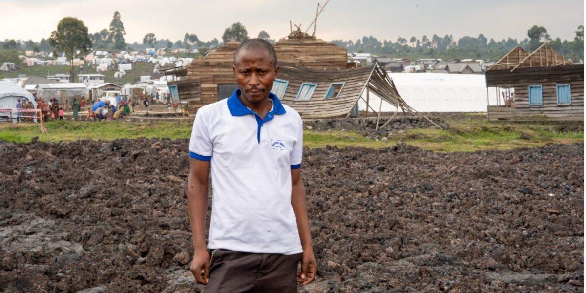 Ernest Katoto Ryanze, Prefect of the Kibati Institute and Secretary of the Mount Nyiragongo Eruption Disaster Committee