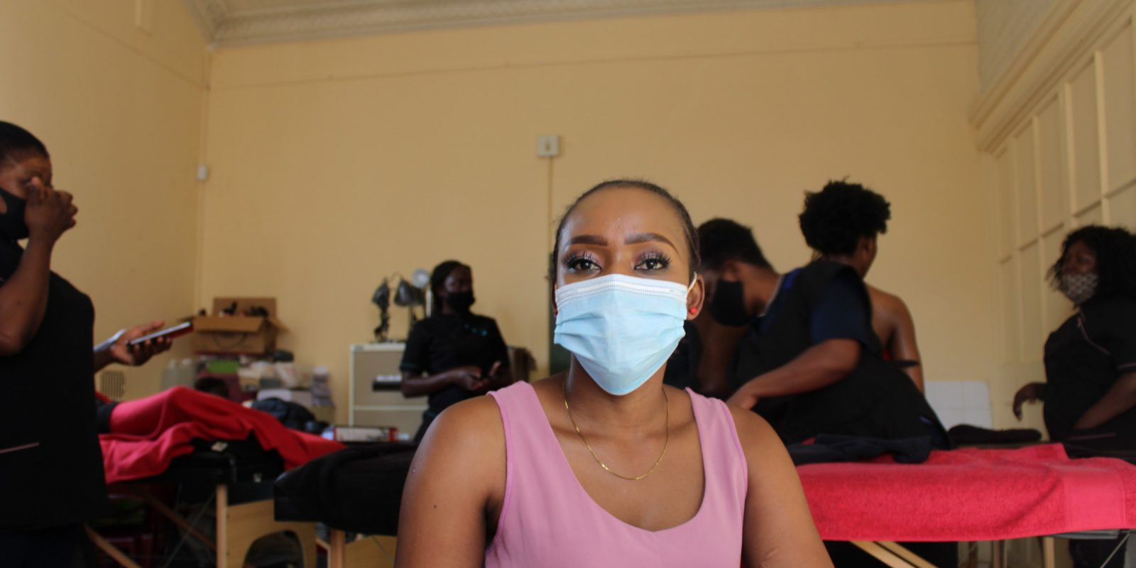 Michelle, the JRS livelihoods massage teacher
